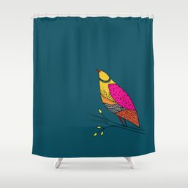 the colored Neville Shower Curtain