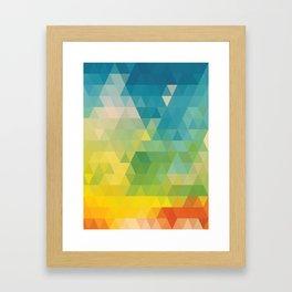 Colorful Day Framed Art Print