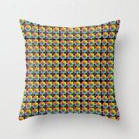 matrix Throw Pillows featuring Spectral Matrix by Phil Perkins