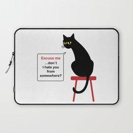Hatful Cat Laptop Sleeve