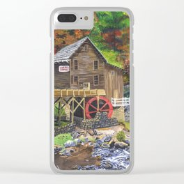 Glade Creek Grist Mill, WV Clear iPhone Case