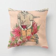 NOche BUENA Throw Pillow