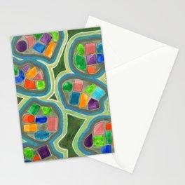 Jewel Nests Pattern Stationery Cards