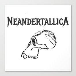 Neandertallica #2 Canvas Print
