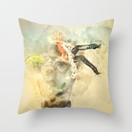 Shaken, not stirred Throw Pillow