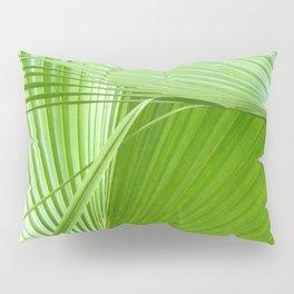 Palm Leaves // Tropical Wall Art, Beach Cottage Decor, Coastal Art Pillow Sham