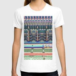 Gyenbokgung detailing T-shirt