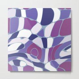 Funky Abstract 3 Metal Print