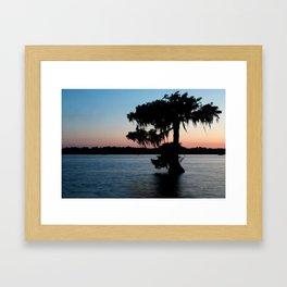 Evening at Lake Martin 1 Framed Art Print