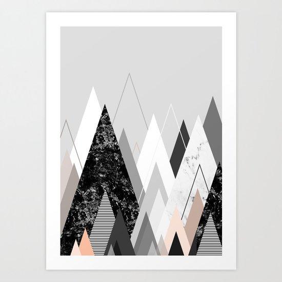 Graphic 124 Art Print