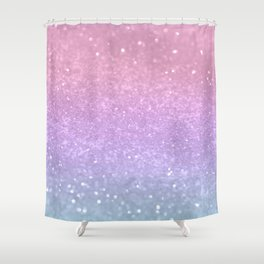 Unicorn Princess Glitter #1 (Photography) #pastel #decor #art #society6 Shower Curtain