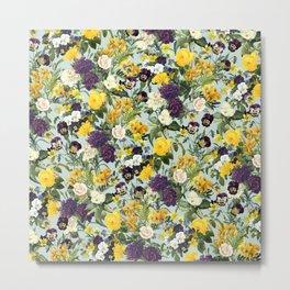 Floral C Metal Print