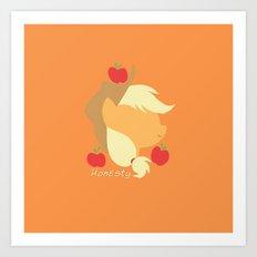 Apple Jack Art Print