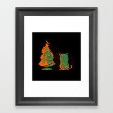 Xmas Miracle Framed Art Print