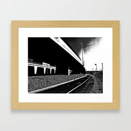 Bridge 3 Framed Art Print