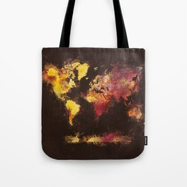 world map 63 Tote Bag