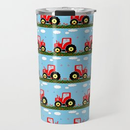 Toy tractor pattern Travel Mug