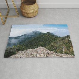 Mt. Leconte Peak Rug