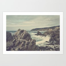 'Sea as far as you can see' Art Print