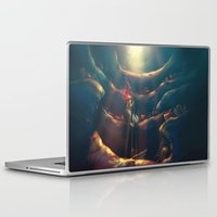 dark Laptop & iPad Skins featuring Someday by Alice X. Zhang