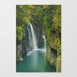 The Takachiho Gorge on the island of Kyushu, Japan Canvas Print