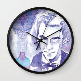 Angry Eyebrows Wall Clock