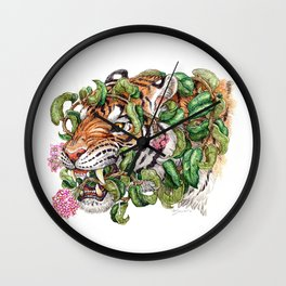 Tenuous Restraint Wall Clock