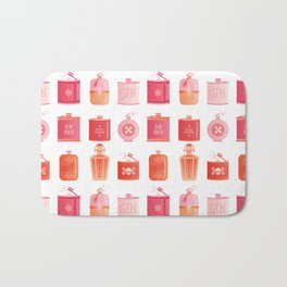 Flask Collection – Pink/Peach Ombré Palette Bath Mat
