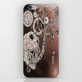 Skull#yaz iPhone Skin
