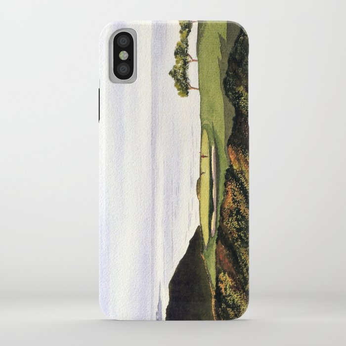 Torrey Pines South Golf Course Hole 3 Iphone Case By Billholkham Society6