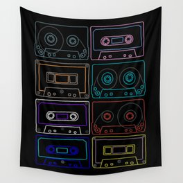 Awesome mixes #4 Wall Tapestry