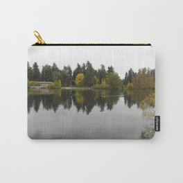 The lake at Wapato Park Carry-All Pouch