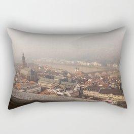 Back in Time-Heidelberg, Germany Rectangular Pillow