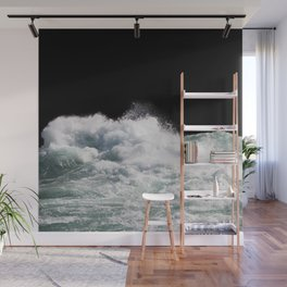 Water Photography | Wild Rapids | Waves | Ocean | Sea Minimalism Wall Mural