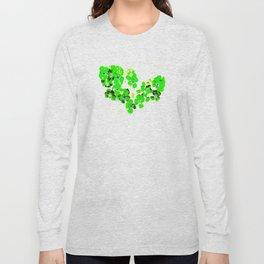 Green Heart Long Sleeve T-shirt