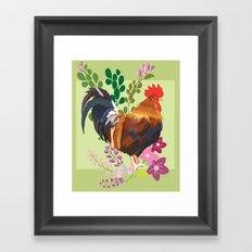 rooster Framed Art Print