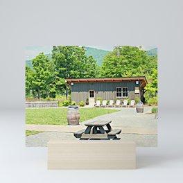 Little Shanty In The Hills Mini Art Print