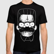 BlackMetal Flanders Black Mens Fitted Tee LARGE