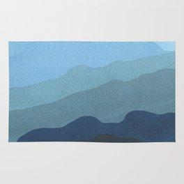 Landscape Blue Rug