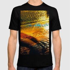 Yellow Brick Road Mens Fitted Tee Black MEDIUM