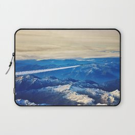 Airplane above the Clouds I Laptop Sleeve