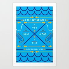 Haikuglyphics - Ernest Art Print