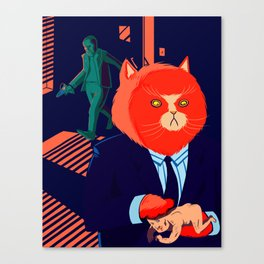Mr. Kitty  Canvas Print