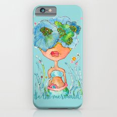 blue girl -- she's a gentle one. Slim Case iPhone 6s