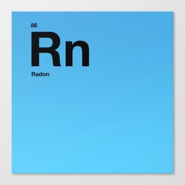 Radon Canvas Print
