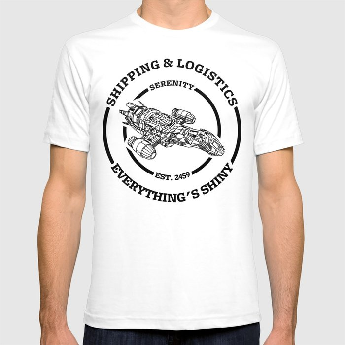 SERENITY SHIPPING AND LOGISTICS T-shirt