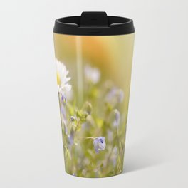 Daisy and court- Daisies Flowers Flower Meadow Spring Travel Mug