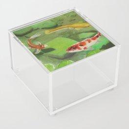 3 Koi Acrylic Box