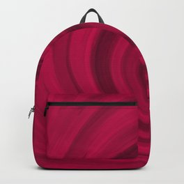 Red abstract pattern Backpack
