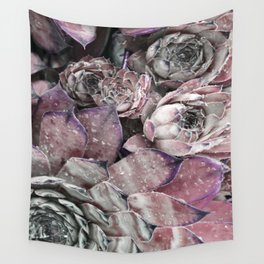 succulent pink Wall Tapestry